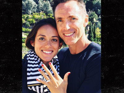 Steve Nash -- I'm Engaged ... To Smokin' Hot Volleyball Player!!