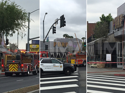Lisa Vanderpump -- Another Day ... Another Restaurant Fire