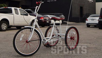 Yoenis Cespedes -- Pimped Out Tricycle -- Gift From Mets Employee!! (PHOTOS)
