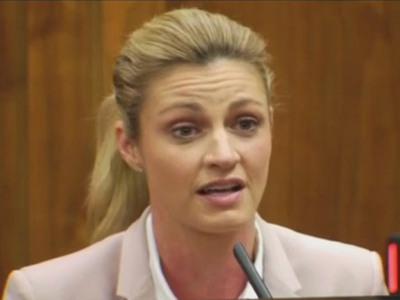 Erin Andrews -- Awarded $55 MILLION In Peephole Case