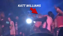 Katt Williams -- Throws Sucker Punch ... Gets Stomped (VIDEO)