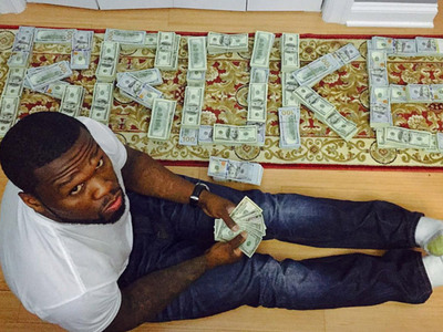 50 Cent -- I Flossed on Instagram with Fake Cash