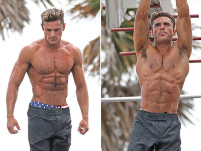 Zac Efron -- Wanna See Me Flex? (PHOTOS)