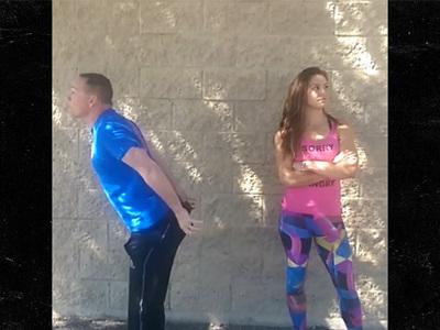 Miesha Tate -- Flips Script On Vegas Cop ... Lemme See Dat Ass! (VIDEO)