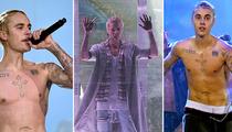 Justin Bieber -- Wet & Shirtless in Seattle to Kickoff Tour (PHOTOS & VIDEOS)