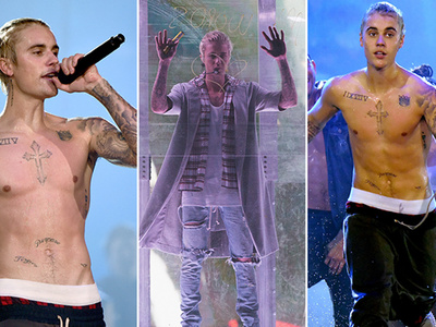 Justin Bieber -- Wet & Shirtless in Seattle to Kickoff Tour (PHOTOS & VIDEOS)
