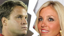 Lane Kiffin's Wife -- Files For Divorce ... 'Irreconcilable Differences'