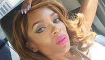 Rapper Lil Mama -- Lip Gloss Be Popping ... Behind Bars