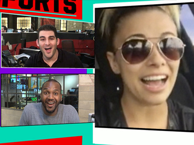 UFC's Paige VanZant -- I'm Going to Fight Mark Ballas (For Real) (VIDEO)