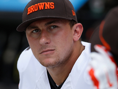 Johnny Manziel -- Thanks Cleveland ... Peace Out