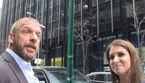 Triple H and Steph -- Refuse to Work Out With Vince ... 'He's Too Crazy!' (VIDEO)