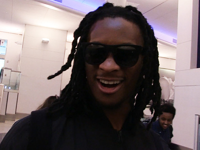 Todd Gurley -- Destroys TMZ Camera Guy ... In $100 Jay Z Bet (VIDEO)