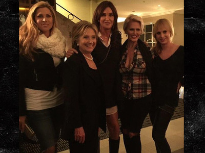 Caitlyn Jenner -- I'm Hillary Clinton Curious (PHOTO)