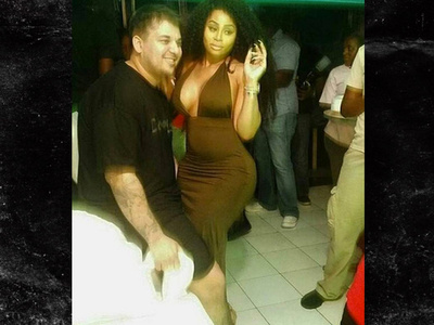 Rob Kardashian -- Watchin' Blac Chyna Put in Werk, Werk, Werk (VIDEO)