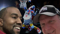 Kanye West -- 1 Step Closer to Makeover for Clippers Mascot