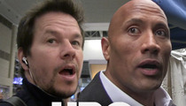 Mark Wahlberg, The Rock -- The Price of Being 'Ballers' ... $200,000,000