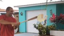 MLB's Danny Espinosa -- Hilarious Gender Reveal Fail ... Betrayed By Bat Swing  (VIDEO + PHOTO)