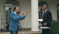 Prez Obama -- Awesome Freestyle Rose Garden Rap by 'Hamilton' Brainchild (VIDEO)