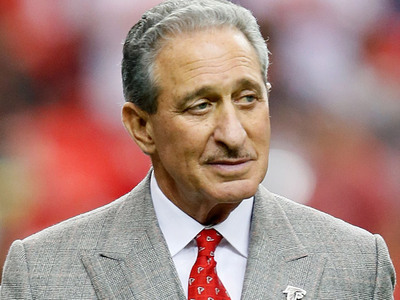 Falcons Owner Arthur Blank -- I'M CANCER FREE!!!