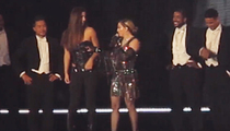 Madonna -- Exposes Concertgoer's Breast During Concert (VIDEO)