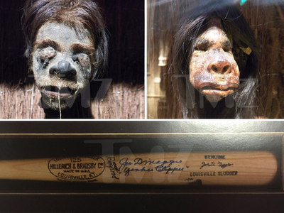 Ripley's Believe It or Not! -- Bounty On 2 Heads ... and a DiMaggio Bat