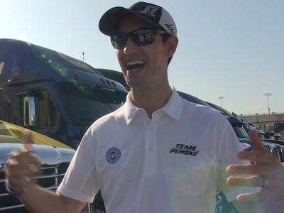 Joey Logano -- I Have A Driving Secret ... I GET CAR SICK (VIDEO)