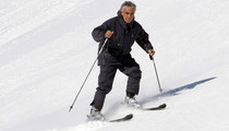 Andrea Bocelli -- Hits the Slopes ... Look Out Below! (PHOTOS)