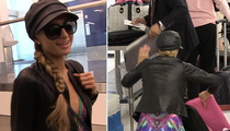 Paris Hilton -- What You Doin' Girl with 5 Laptops?!! (VIDEO)