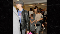 Halle Berry, Olivier Martinez -- We're Back On ... But Not That Way (PHOTO)