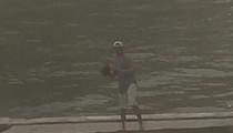 Johnny Manziel -- Playing Football?? (VIDEO)