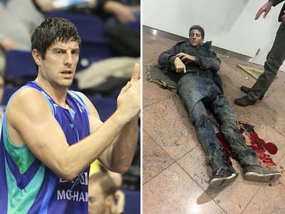 Brussels Terror Attack -- Injured Basketball Player Speaks ... 'Thought About Wife, Kids'