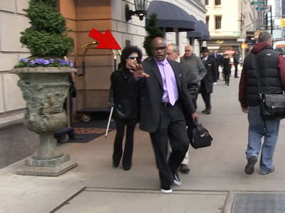 Prince -- Rare Video ... Out in Daylight!!!