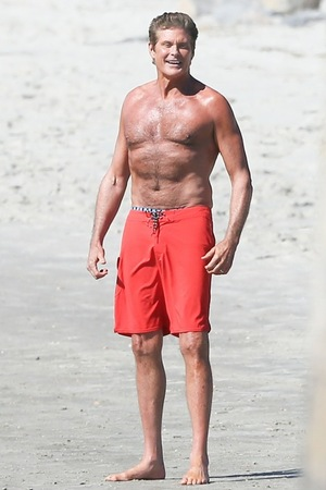 David Hasselhoff -- Back on the Beach for 'Baywatch'