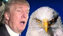 Donald Trump Campaign Sued -- Make America Great, But NOT with Our Majestic Eagle