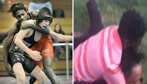 Katt Williams -- The Kid Who Choked Him Bad ... An Accomplished Wrestler (PHOTO)