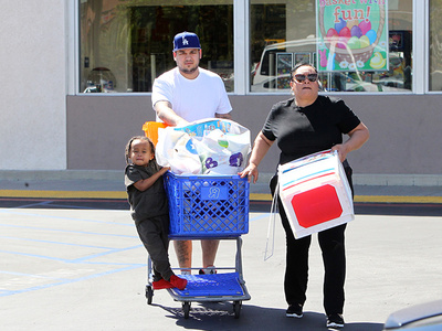 Rob Kardashian Channels Inner Stepdaddy (PHOTO)