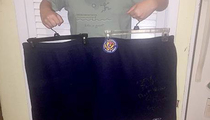 Gov. Chris Christie -- Buy My Gym Shorts ... 5XL Workout Gear for Sale!! (PHOTO)