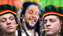 Nate & Nick Diaz -- Invited to Spark It Up Like Real Rastas with Julian Marley!