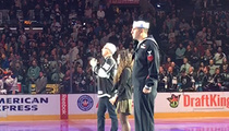 Dr. Drew Sings National Anthem for Kings ... Kills It! (VIDEO)