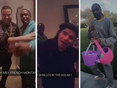 Diddy -- Star Studded Easter Sunday (VIDEO)