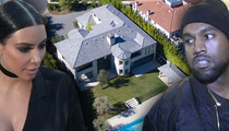 Kim and Kanye -- We're Fresh in Bel-Air ... Finally Out Of Kris Jenner's Pad