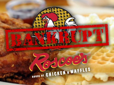 Roscoe's Chicken N Waffles -- Parent Co. Files for Bankruptcy ... But Still Serving