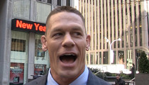 John Cena -- Presidential Race Is Like WWE ... 'They're Studying Our Playbook' (VIDEO)