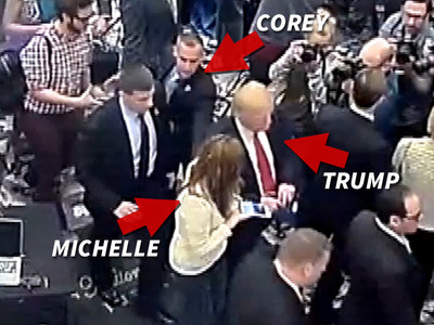 Donald Trump -- Campaign Manager Charged for Grabbing Reporter (VIDEO)