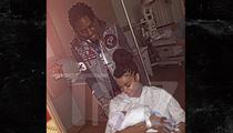 Fetty Wap & Masika -- Introducing Our Baby Girl ... Khari (PHOTO)