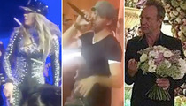 J Lo, Enrique & Sting -- Greatest Wedding Band Ever! Russian Billionaire Foots Bill