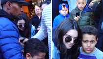 Kendall Jenner & Hailey Baldwin -- Chaos Erupts in NYC ... Give This Kid a Break! (VIDEO)