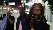 Snoop Dogg -- Pumped to Be WWE Hall of Famer ... Here's My Hogan Impression (VIDEO)