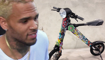 Chris Brown -- Check Out My Monster Wheels ... Totally Eco-Friendly (PHOTOS & VIDEO)