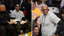 Lamar Odom -- Accepts Kobe's Invite ... Attends Lakers Game